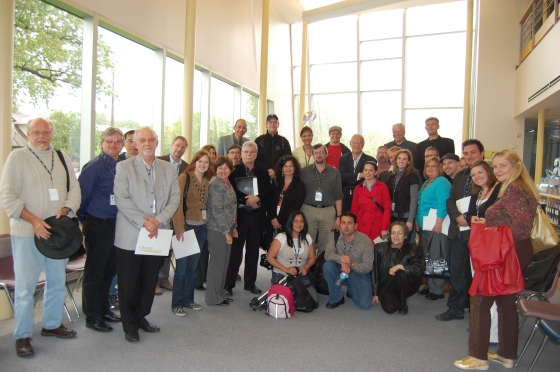 Some of the participants from the Brave New(s) World Summit