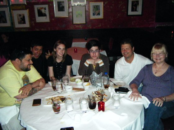 In this picture: Micah Baldwin, Jeremy Wright, Me, Aidan Nulman, Jim Turner, Jane Goodwin