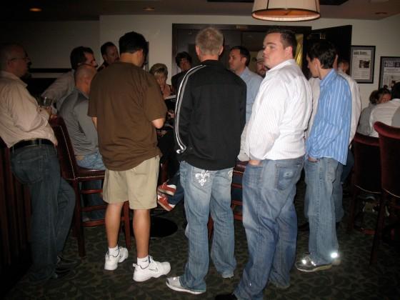 Matt Mullenweg surrounded by the WordPress fans