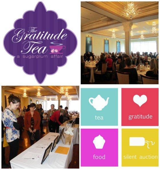 Gratitude Tea Poster