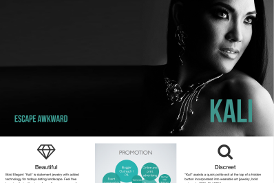 Kali website screenshot