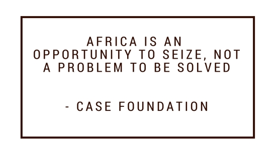 Case Foundation quote